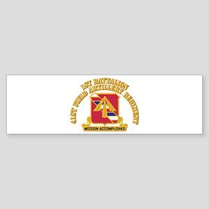 DUI - 1st Bn, 41st Field Artillery Regiment With T