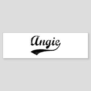 Vintage: Angie Bumper Sticker