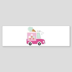 Ice Cream Truck Bumper Sticker