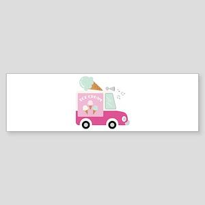 Ice Cream Bumper Sticker