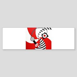 The White Stripes Jack White Original Sticker (Bum