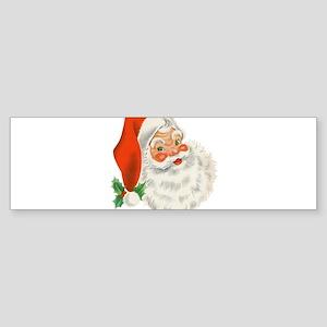 Vintage Santa Bumper Sticker