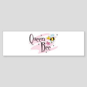 Queen Bee (bumper) Bumper Sticker