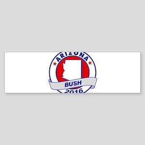 Arizona Jeb Bush 2016 Bumper Sticker