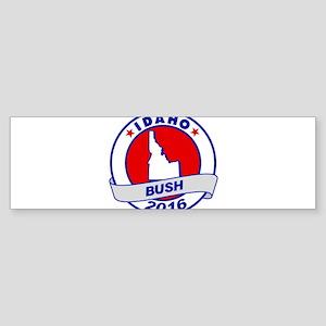 Idaho Jeb Bush 2016 Bumper Sticker