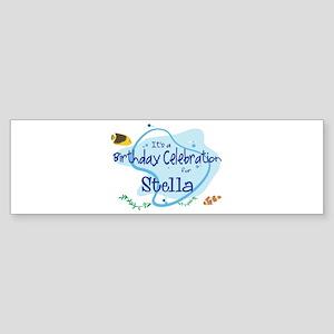 Celebration for Stella (fish) Bumper Sticker