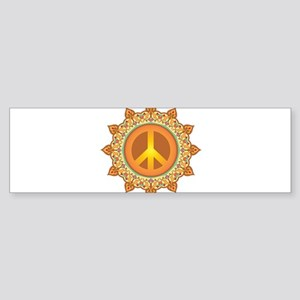 Peace Sign Sticker (Bumper)