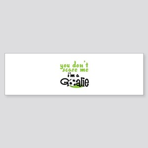 Im A Goalie Bumper Sticker