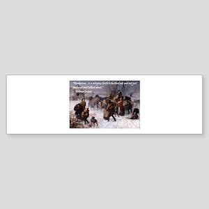The Underground Railroad Bumper Sticker