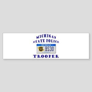 Michigan State Police Sticker (Bumper)