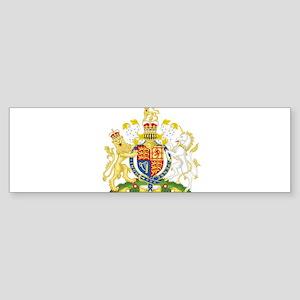 United Kingdom Coat Of Arms Sticker (Bumper)
