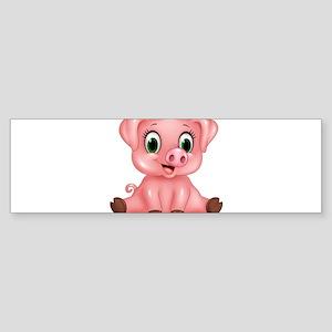 Piggie Bumper Sticker