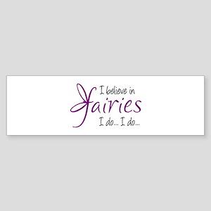 i believe in fairies color Sticker (Bumper)