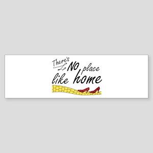 'No Place Like Home' Sticker (Bumper)