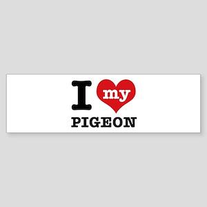i love my Pigeon Sticker (Bumper)