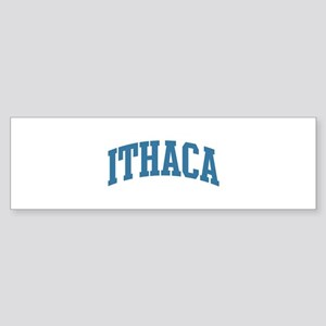 Ithaca (blue) Bumper Sticker