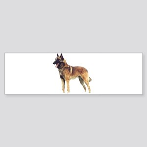 belgian malinois full Bumper Sticker