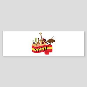 Spain 1 Bumper Sticker