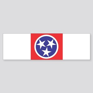 Tennessee Flag Bumper Sticker