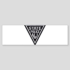 New Jersey State Police Bumper Sticker