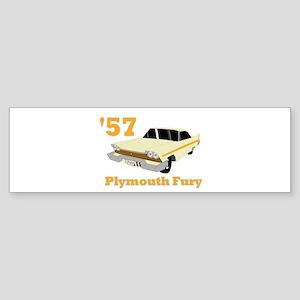 Chrysler Mopar '57 Plymouth F Bumper Sticker