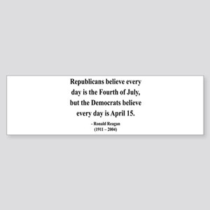 Ronald Reagan 10 Bumper Sticker