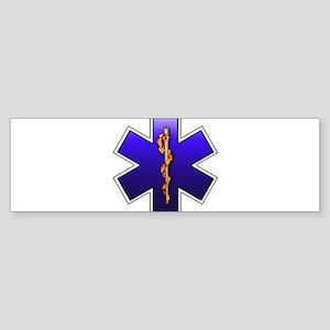 Star of Life(EMS) Sticker (Bumper)