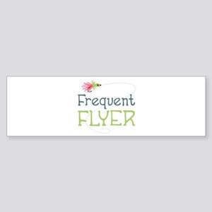 Frequent Flyer Bumper Sticker