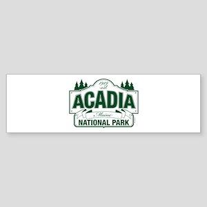 Acadia National Park Sticker (Bumper)