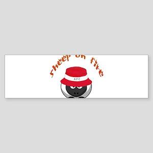 sheeponfire2 Bumper Sticker