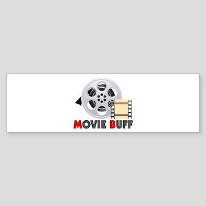 I'm A Movie Buff Sticker (Bumper)