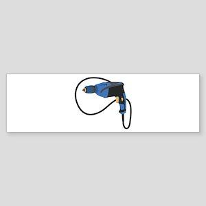 Electric Drill Bumper Sticker