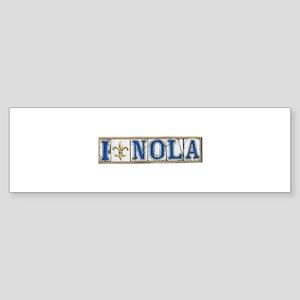 Love NOLA Bumper Sticker