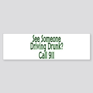 Call 911 Bumper Sticker
