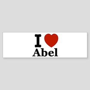 I love Abel Sticker (Bumper)