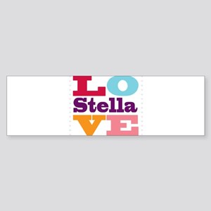 I Love Stella Sticker (Bumper)