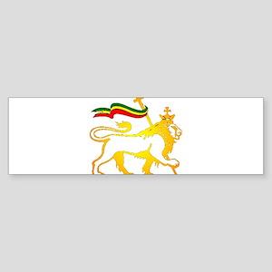 KING OF KINGZ LION Bumper Sticker