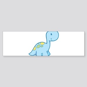 Cute Baby Dinosaur Bumper Sticker