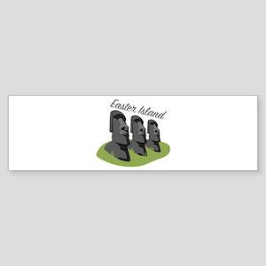 Easter Island Bumper Sticker