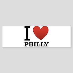 i-love-philly Sticker (Bumper)