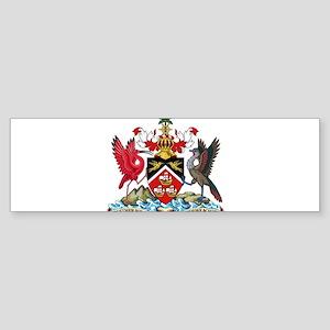 Trinidad and Tobago Coat Of Arms Sticker (Bumper)