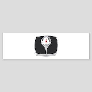 Scale Bumper Sticker