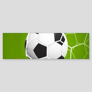 Football Goal Bumper Sticker