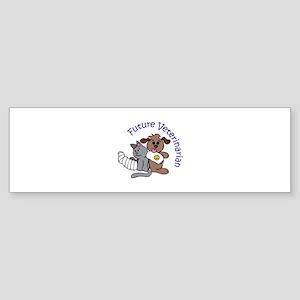FUTURE VETERINARIAN Bumper Sticker