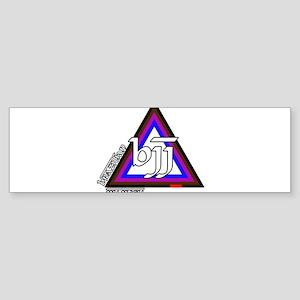 BJJ - Brazilian Jiu Jitsu - C Sticker (Bumper)