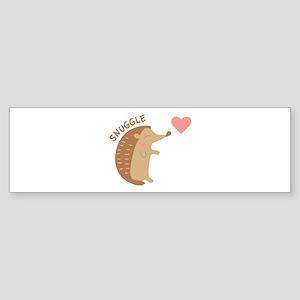 Snuggle Bumper Sticker