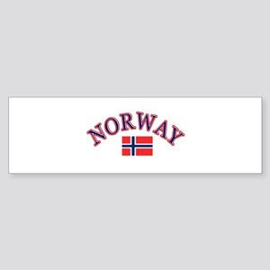 Norway Soccer Designs Sticker (Bumper)