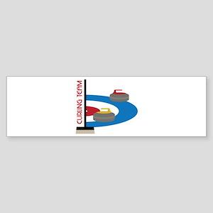 Curling Team Bumper Sticker
