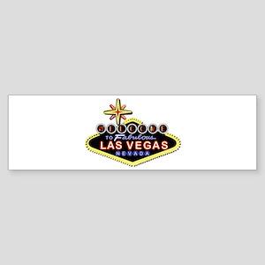 Fabulous Las Vegas Sticker (Bumper)