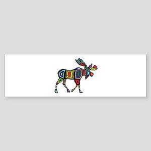 MOOSE STYLED Bumper Sticker